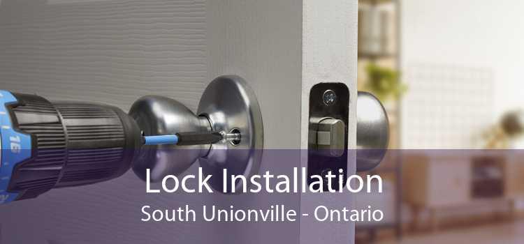 Lock Installation South Unionville - Ontario