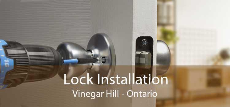 Lock Installation Vinegar Hill - Ontario