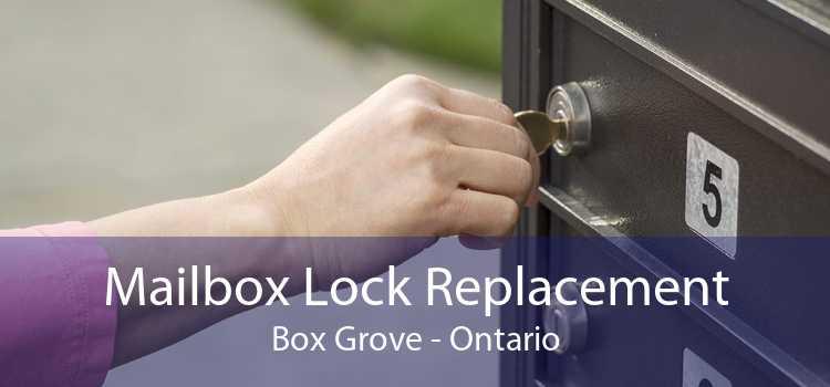 Mailbox Lock Replacement Box Grove - Ontario