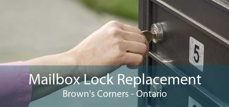 Mailbox Lock Replacement Brown's Corners - Ontario