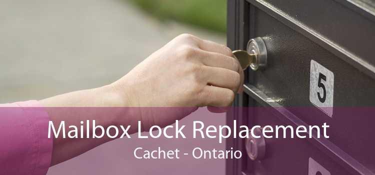 Mailbox Lock Replacement Cachet - Ontario