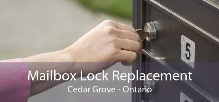 Mailbox Lock Replacement Cedar Grove - Ontario