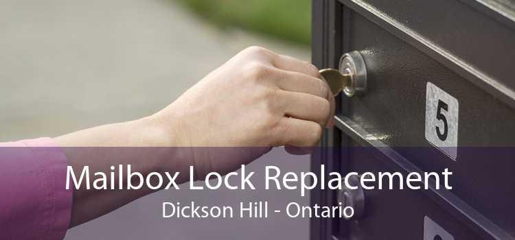 Mailbox Lock Replacement Dickson Hill - Ontario