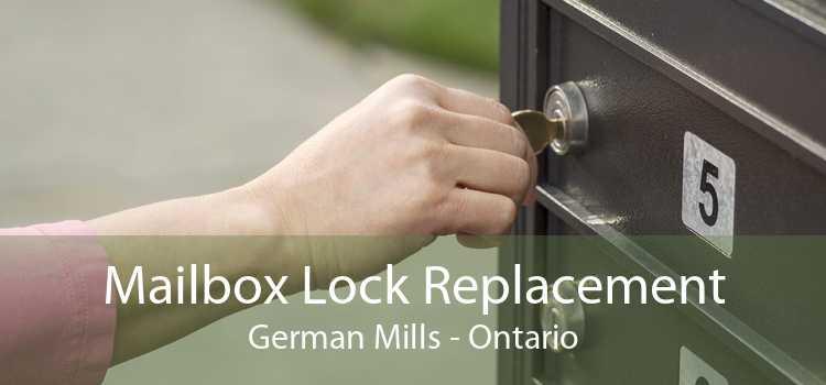 Mailbox Lock Replacement German Mills - Ontario