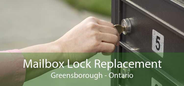 Mailbox Lock Replacement Greensborough - Ontario