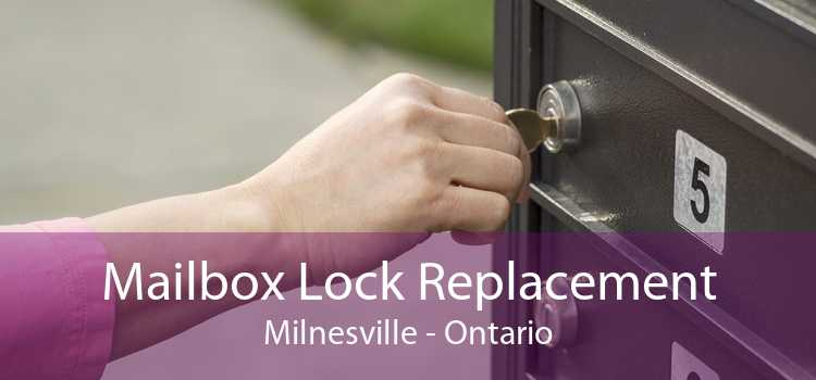 Mailbox Lock Replacement Milnesville - Ontario
