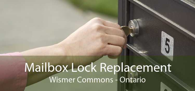 Mailbox Lock Replacement Wismer Commons - Ontario