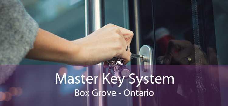 Master Key System Box Grove - Ontario