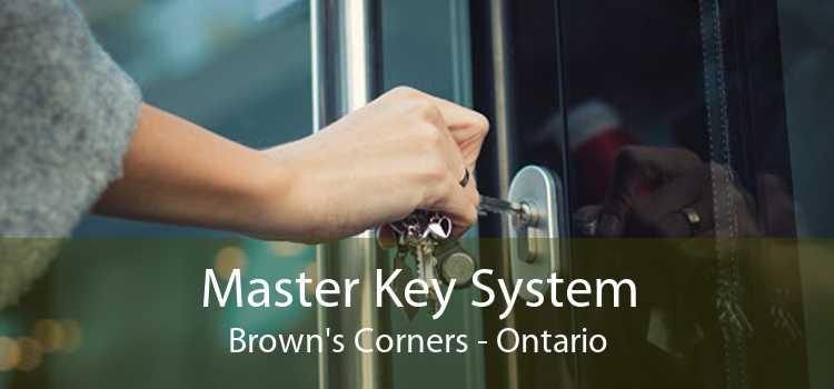 Master Key System Brown's Corners - Ontario