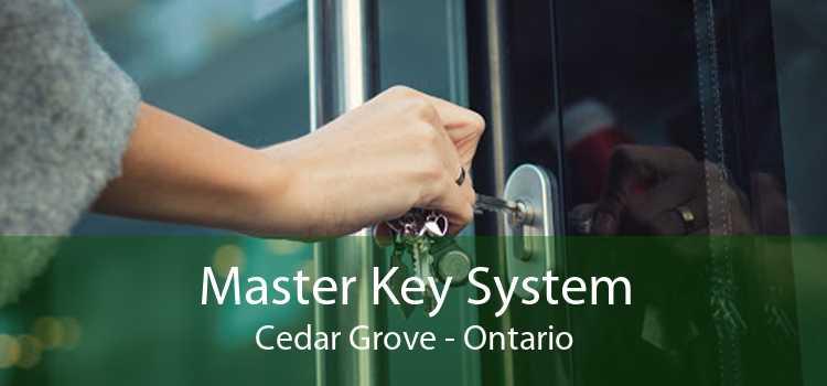 Master Key System Cedar Grove - Ontario