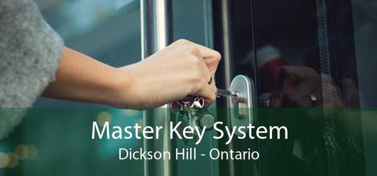 Master Key System Dickson Hill - Ontario