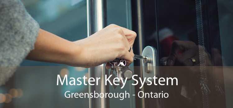 Master Key System Greensborough - Ontario