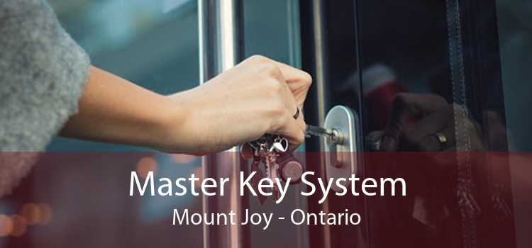 Master Key System Mount Joy - Ontario