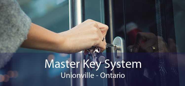 Master Key System Unionville - Ontario