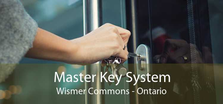 Master Key System Wismer Commons - Ontario