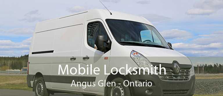 Mobile Locksmith Angus Glen - Ontario
