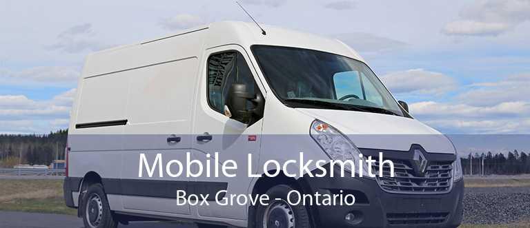 Mobile Locksmith Box Grove - Ontario