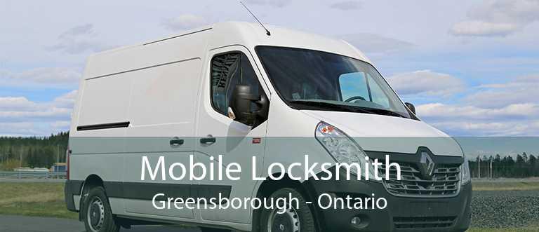 Mobile Locksmith Greensborough - Ontario