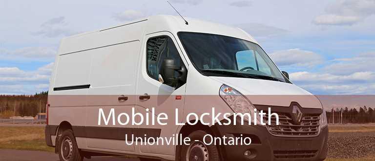 Mobile Locksmith Unionville - Ontario