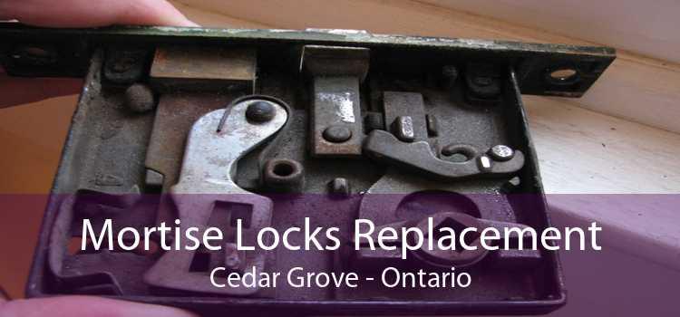 Mortise Locks Replacement Cedar Grove - Ontario