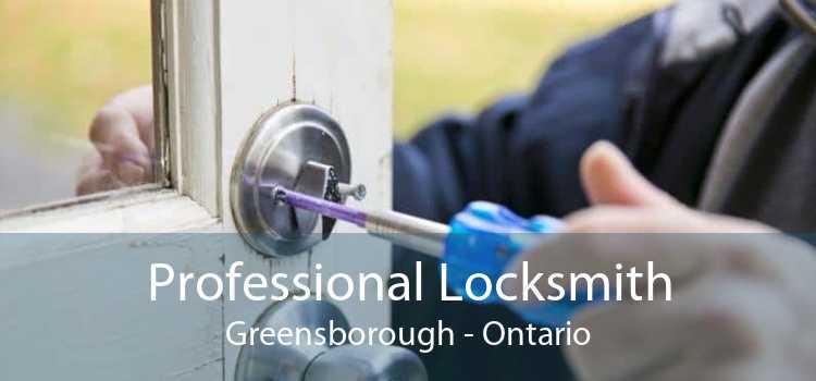 Professional Locksmith Greensborough - Ontario