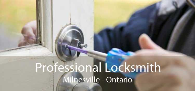 Professional Locksmith Milnesville - Ontario