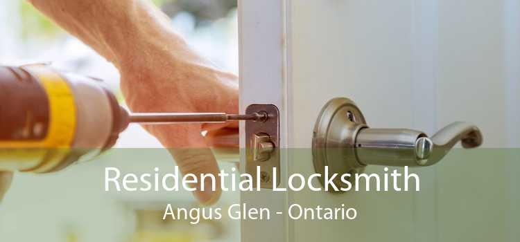 Residential Locksmith Angus Glen - Ontario
