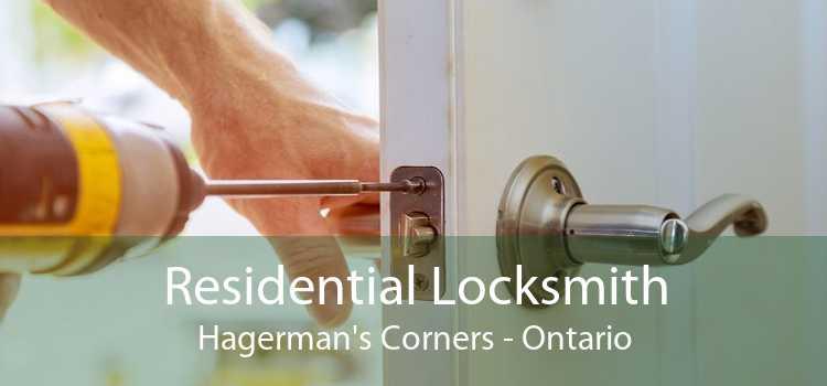 Residential Locksmith Hagerman's Corners - Ontario
