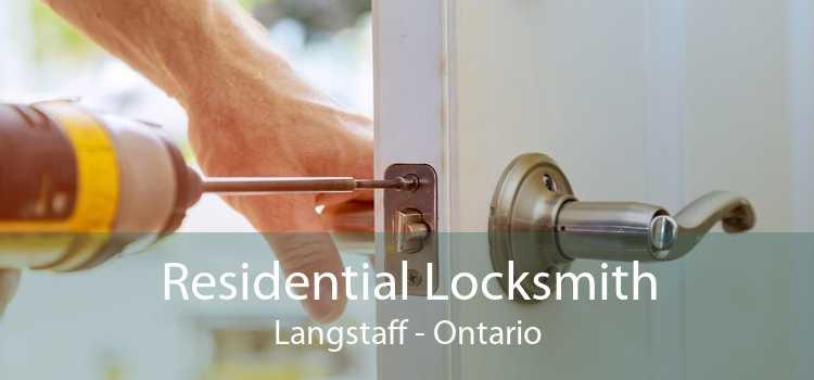 Residential Locksmith Langstaff - Ontario