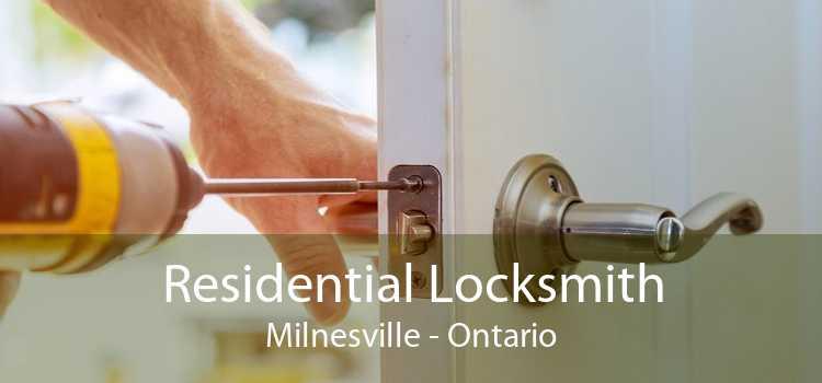 Residential Locksmith Milnesville - Ontario
