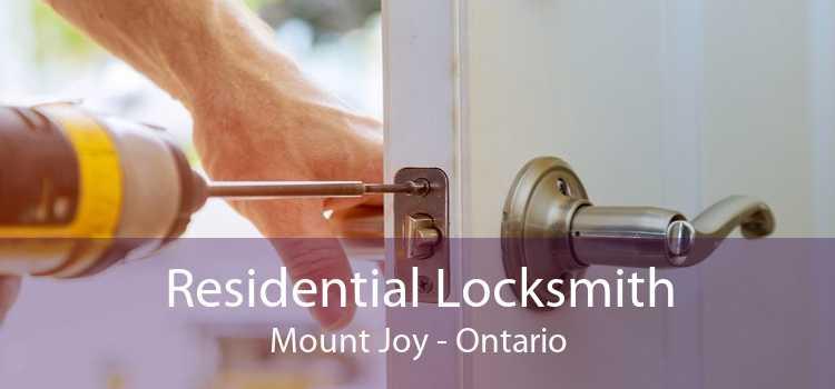 Residential Locksmith Mount Joy - Ontario