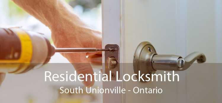 Residential Locksmith South Unionville - Ontario
