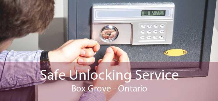 Safe Unlocking Service Box Grove - Ontario