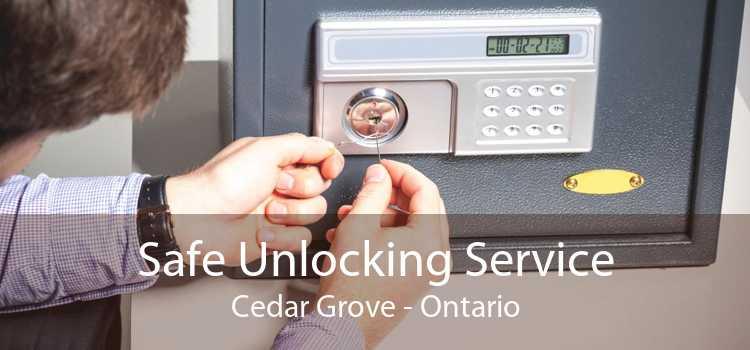 Safe Unlocking Service Cedar Grove - Ontario