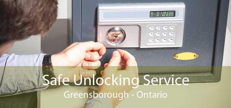 Safe Unlocking Service Greensborough - Ontario
