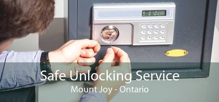 Safe Unlocking Service Mount Joy - Ontario