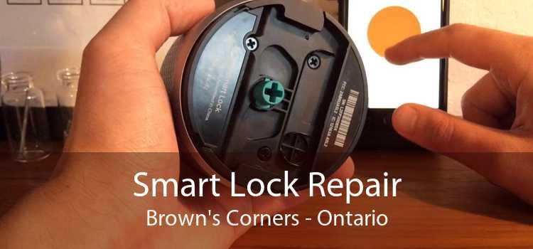 Smart Lock Repair Brown's Corners - Ontario